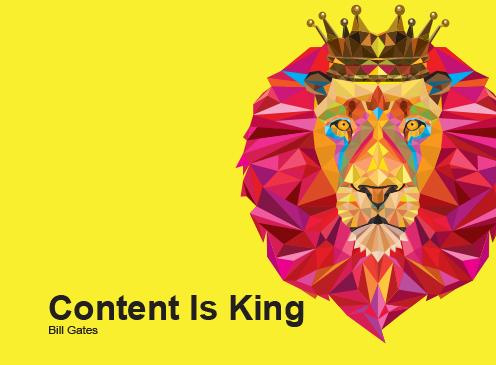 Kết quả hình ảnh cho content king